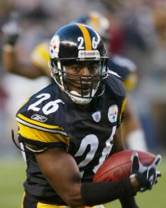 Deshea Townsend in his NFL playing days