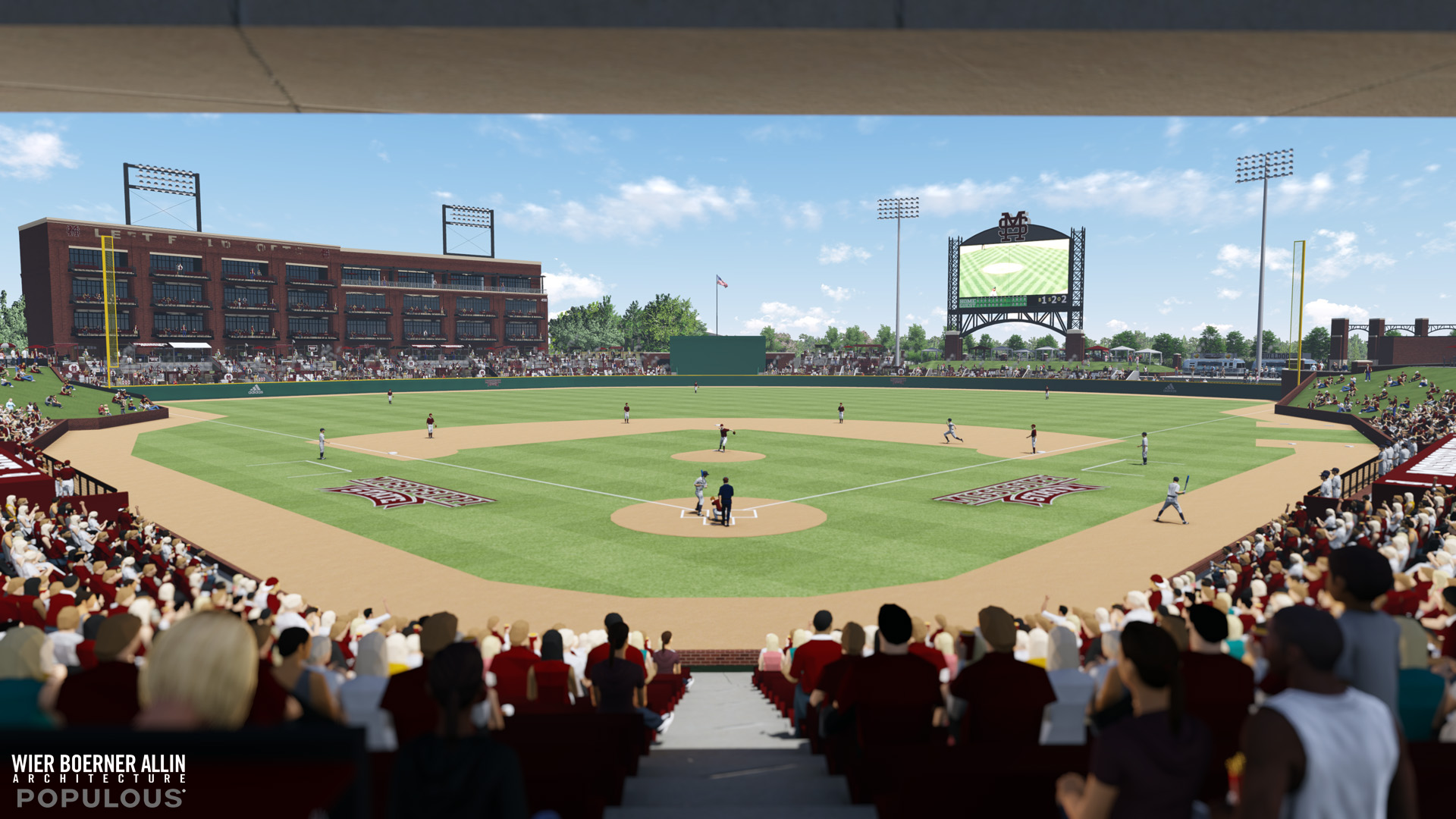 Details on plans for msus new baseball stadium hailstatebeat 5 malvernweather Gallery
