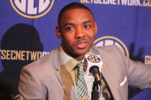 Jay Hughes at SEC Media Days in July