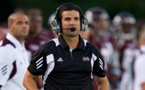 Mississippi State defensive coordinator Manny Diaz
