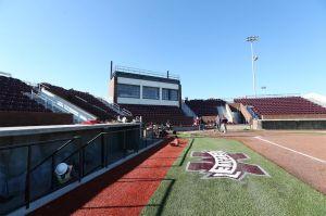 01-13-16 SB RenovationA look at the softball stadium progress in mid-January 2016.Photo by Kelly Price