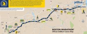 Mullen's progress in the Boston Marathon on Monday can be tracked using his bib number, #29394