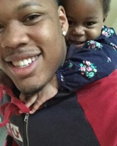 Preston Smith with his daughter